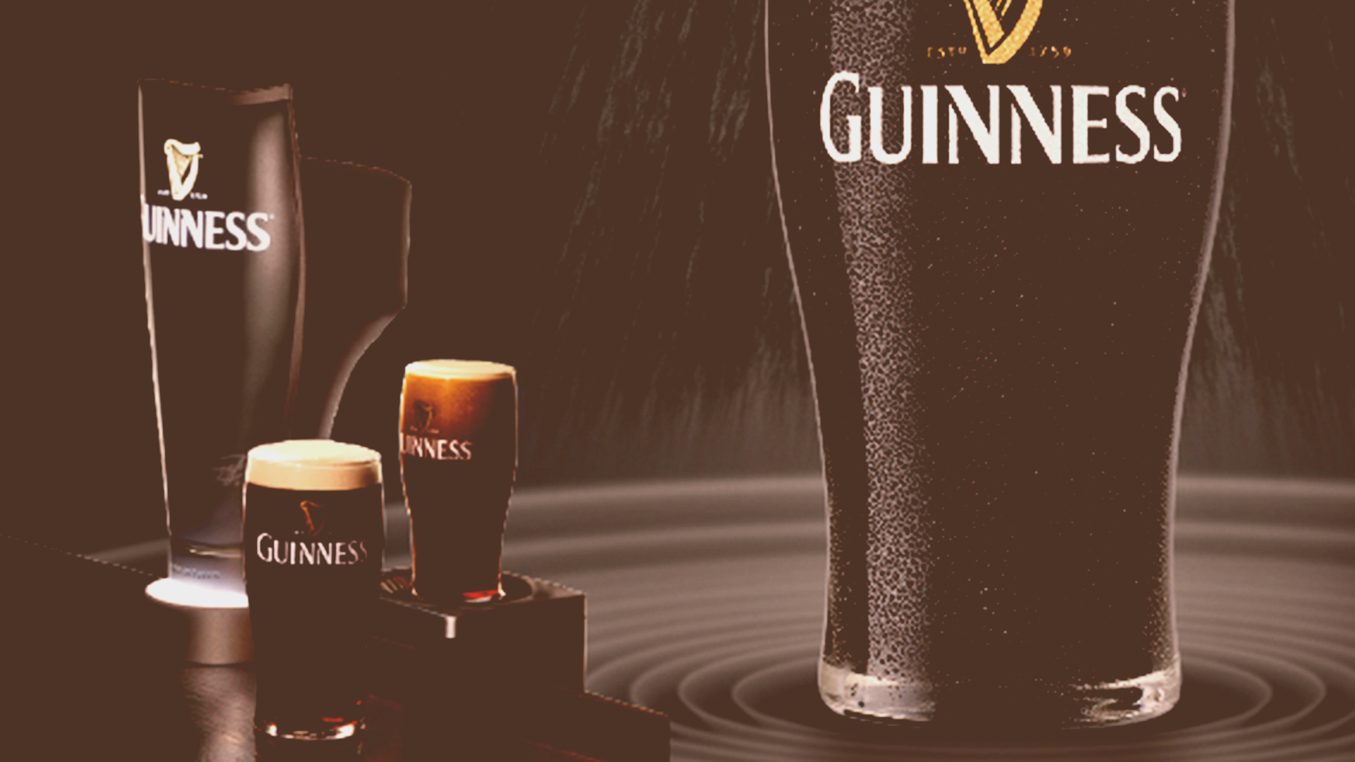 Customer engagement per Diageo – Guinness Surger
