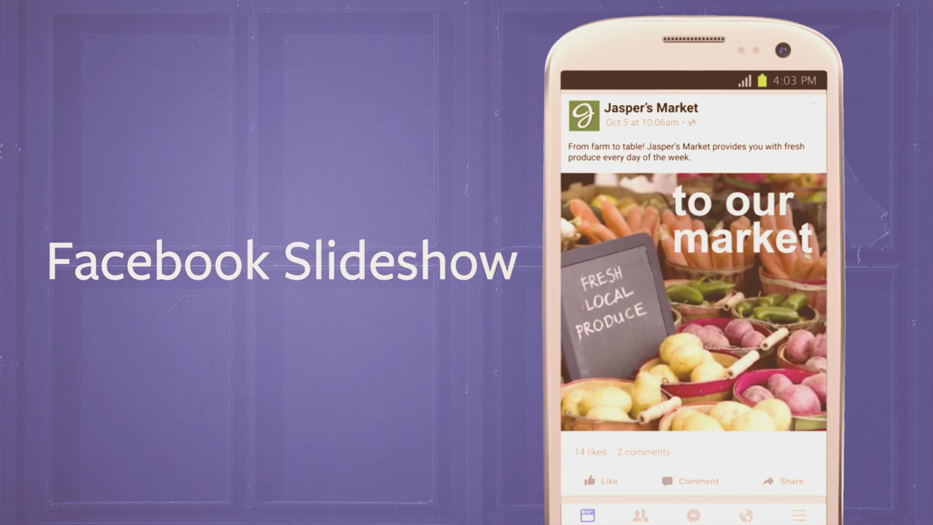 Facebook Slideshow. Il video advertising per i mercati emergenti