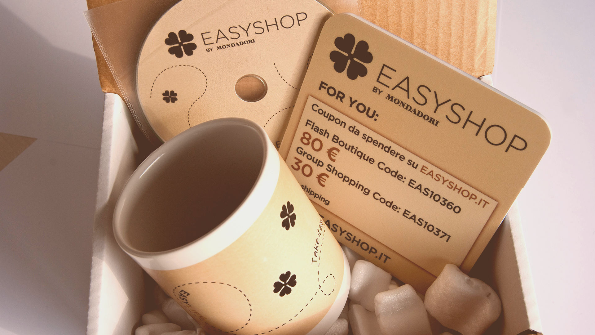Influencer marketing per Easyshop, sito e-commerce di Mondadori