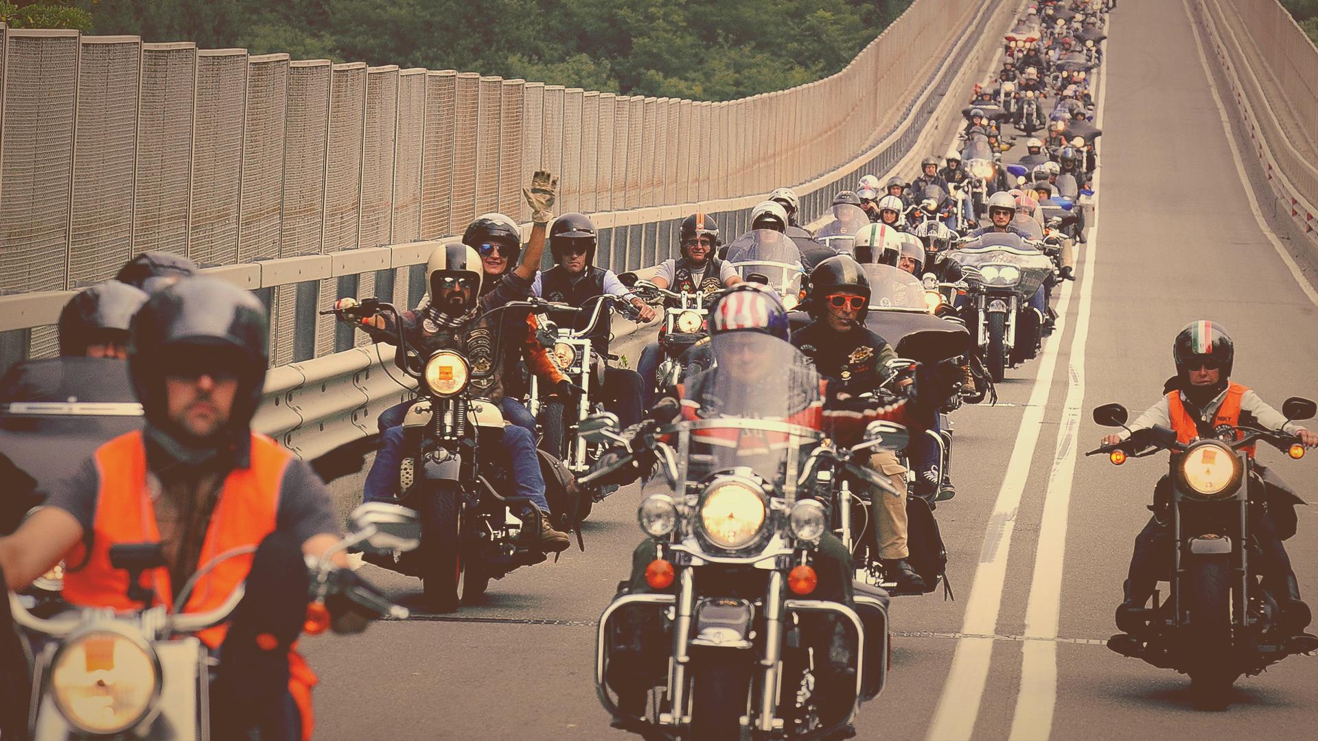 Evento di brand engagement per il Lombardia Rally di Harley-Davidson