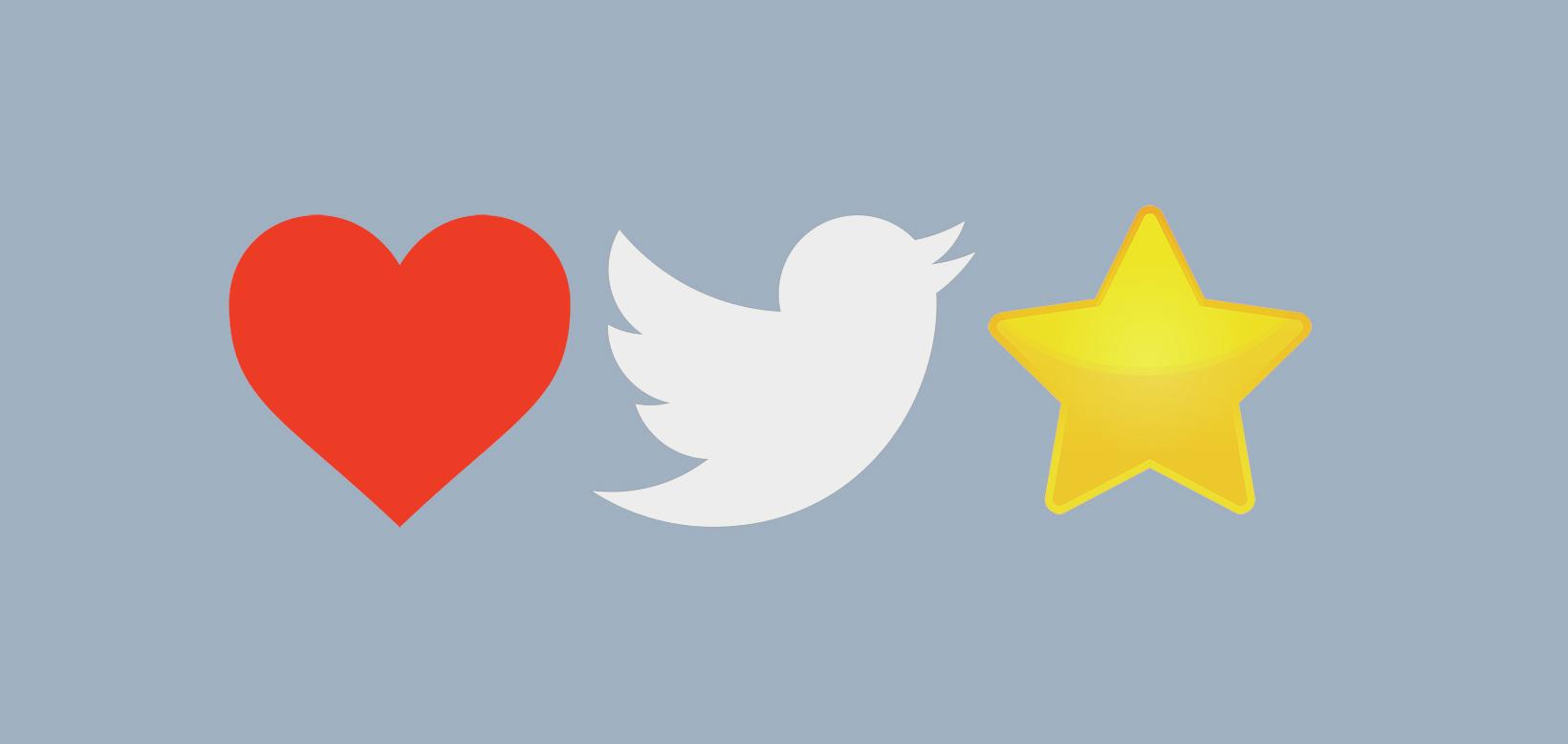 Cuori Vs Stelle: la battaglia di Twitter