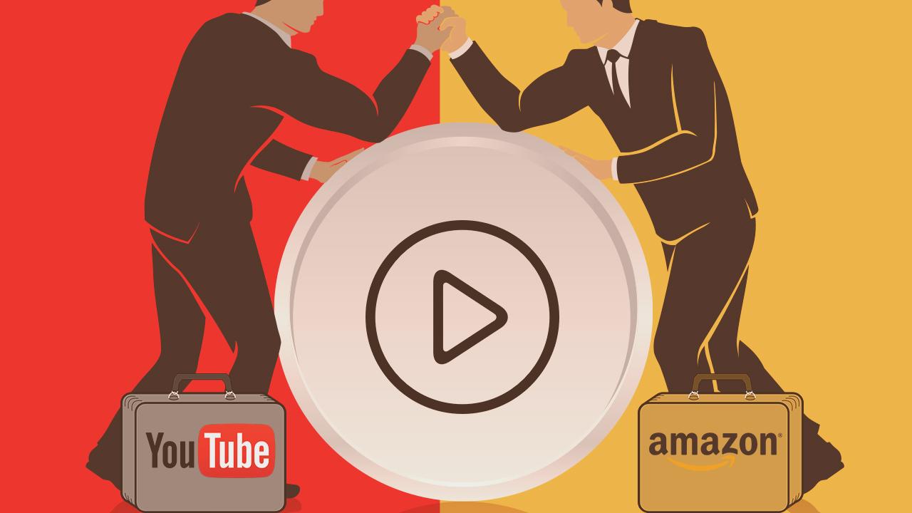 Amazon sfida Google. Ma è già in cantiere YouTube Unplugged