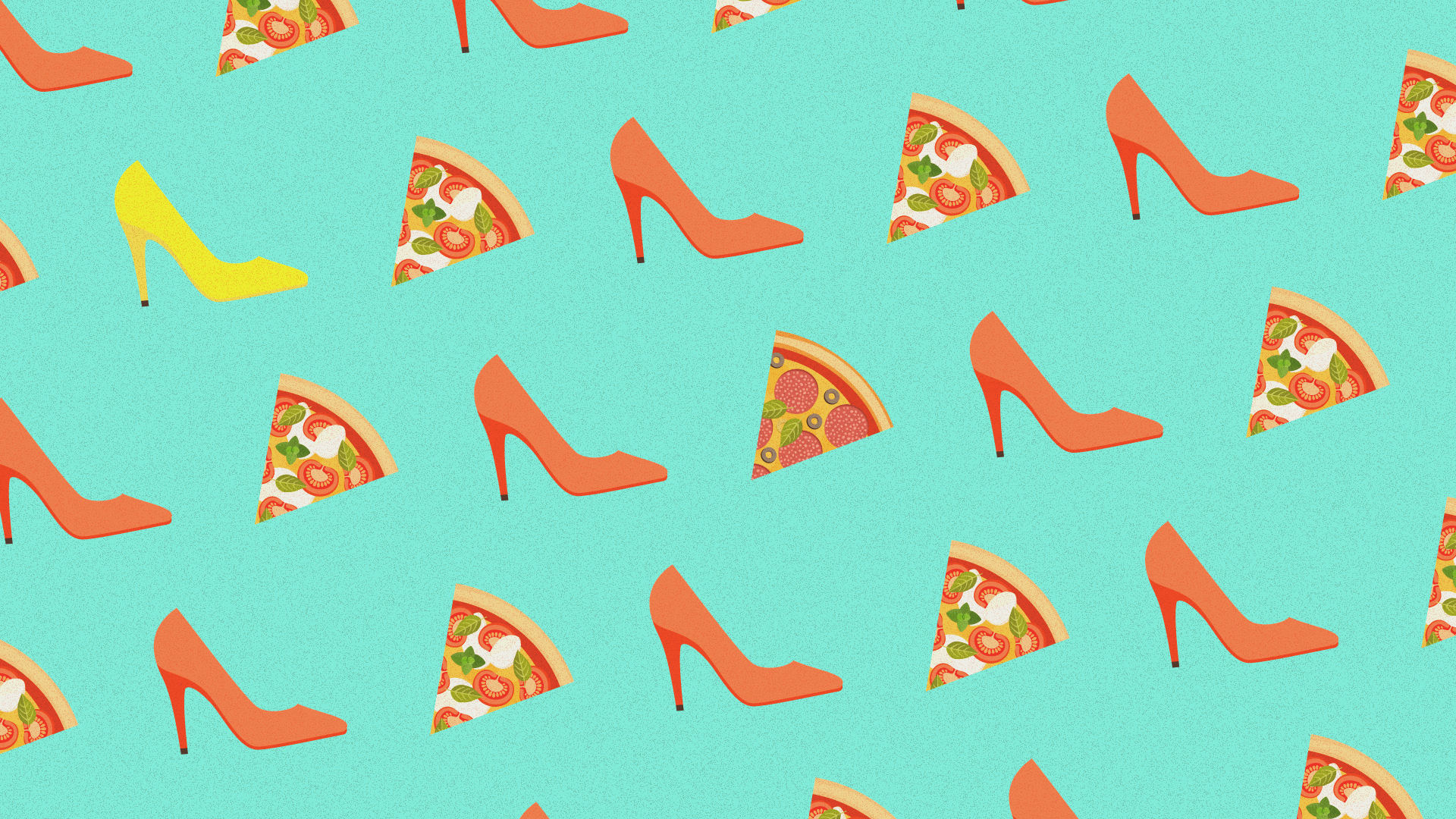 Fashion: it's all about pizza