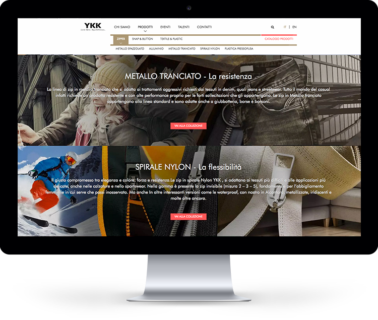 YKK digital strategy