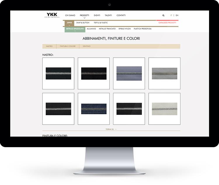 YKK digital strategy