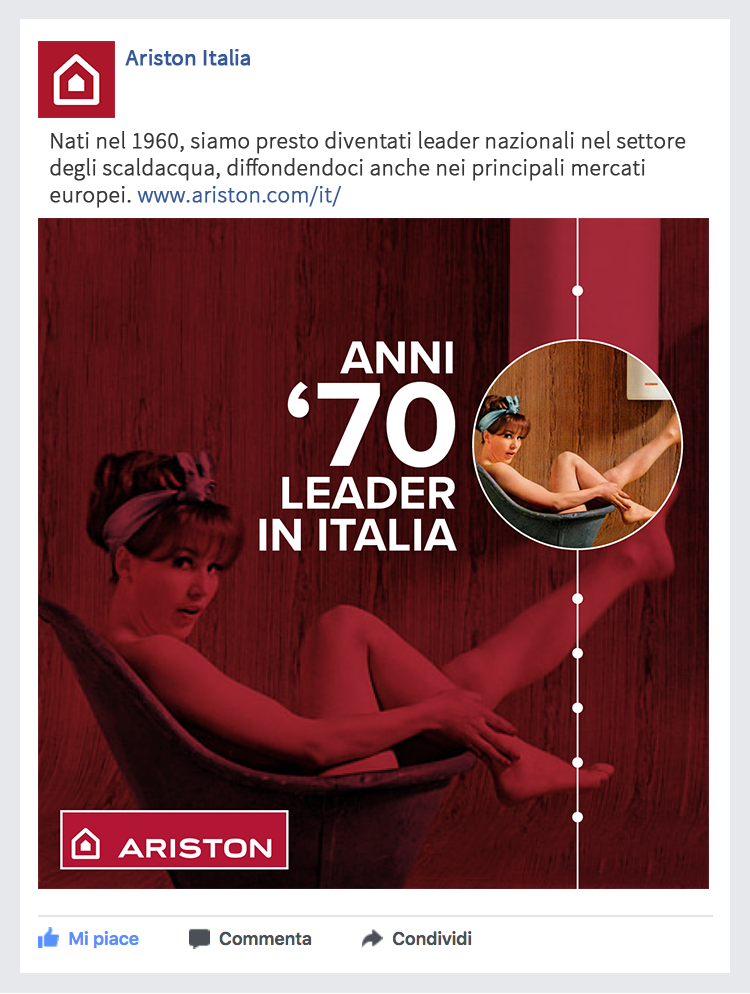 social meda strategy Ariston